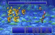 Leon using Confuse XVI from FFII Pixel Remaster