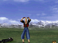 FFVIII Zell Victory Pose