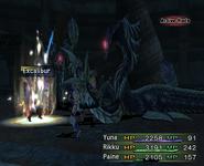 FFX-2 Excalibur Activated