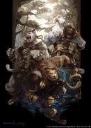 FFXIV Hrothgar artwork