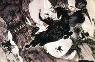 Fantasy Castle 2 FFVI Amano Art