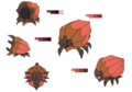 Houzukisuki palette concept for Final Fantasy Unlimited