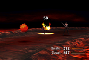 Bomb uses Fire in FFVIII Remastered