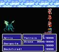 FFIII NES Backfire