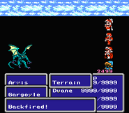 FFIII NES Backfire