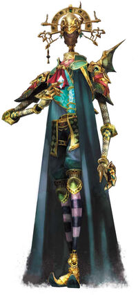 An Amidatelion as seen in Final Fantasy Crystal Chronicles: The Crystal Bearers.