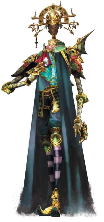 Final Fantasy Crystal Chronicles: The Crystal Bearers enemies