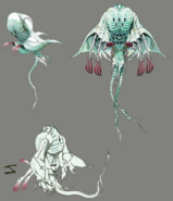 Ghost artwork for FFVII Remake