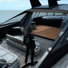 Resting on the royal vessel in FFXV.png