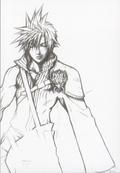 Концепт-арт Final Fantasy VII: Advent Children