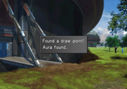 Aura draw point location during the Battle of the Gardens from FFVIII R