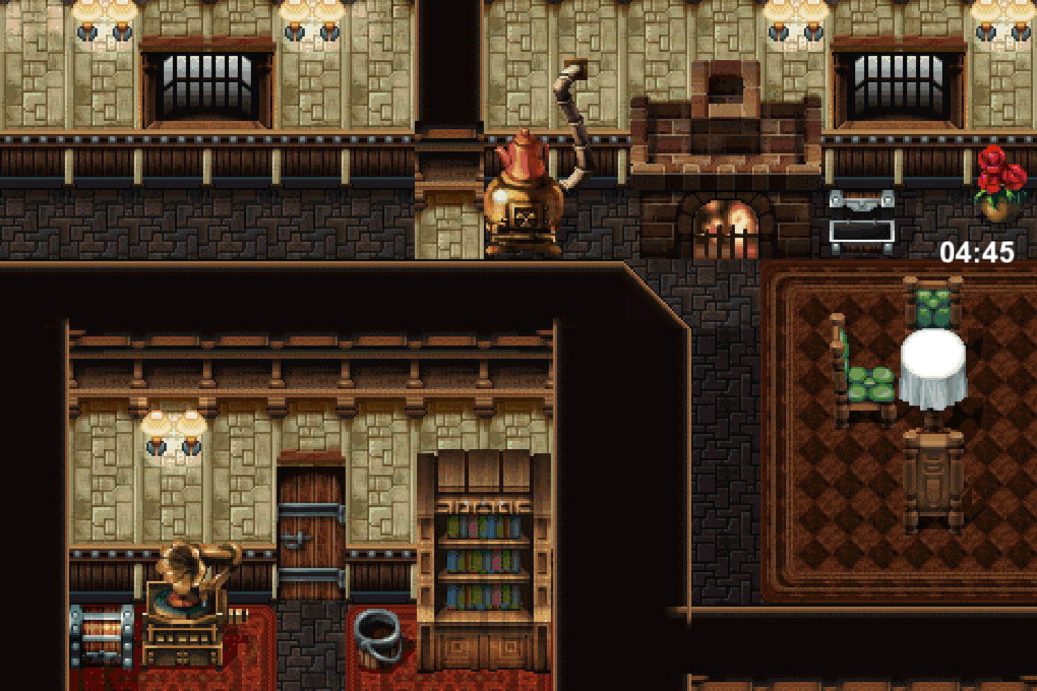 FFVI PC Crumbling House First Floor.png