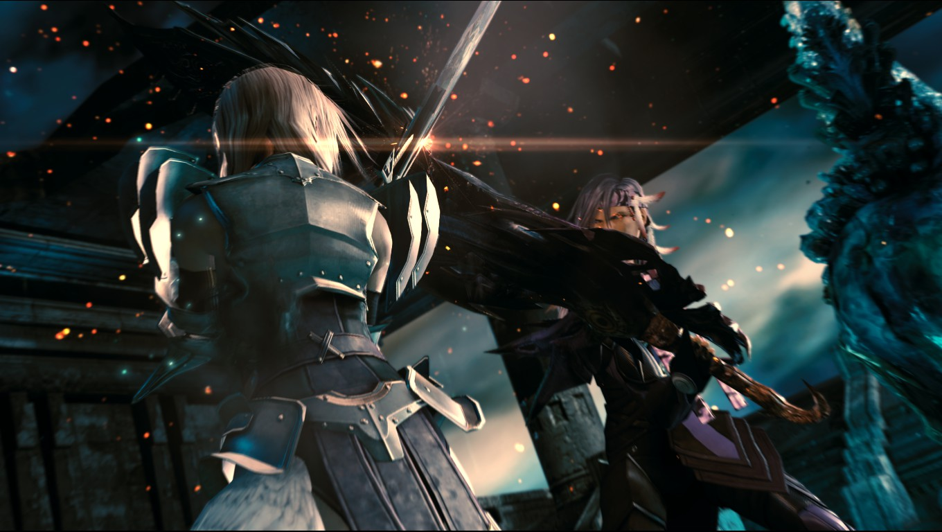 Lightning-and-Caius-battle-LRFFXIII.png