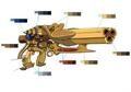 Magun palette concept 1 for Final Fantasy Unlimited