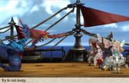 Bravely Default Sea Battle Background