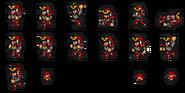 FFRK Samurai sprites