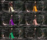 Lightning garb color customization