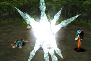 Mandragora uses Blizzara from FFIX Remastered