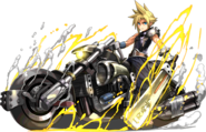 PAD Cloud bike artwork