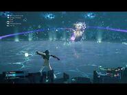 "Ramuh in ""Top Secrets"" gauntlet in hard mode in Final Fantasy VII Remake Episode INTERmission"