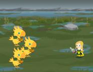 Yellow Chocobo (x3) Brigade