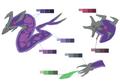 Episode 5 monster palette concept for Final Fantasy Unlimited