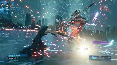 Cloud's Ascension Limit Break from FINAL FANTASY VII REMAKE