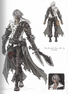 FFXIV HW Thancred concept