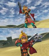 Rikku Alchemist Victory Pose