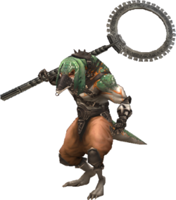 Ba'Gamnan is a bangaa enemy in Final Fantasy XII.