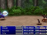 Final Fantasy VII battle system