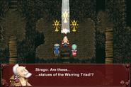FFVI PC Warring Triad Statues Esper Caves