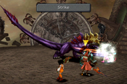 Behemoth uses Strike from FFIX Remastered