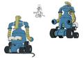 Dryer 1 palette concept for Final Fantasy Unlimited