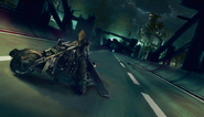 Midgar Expressway artwork 3 for Final Fantasy VII Remake