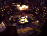 Shinra mansion library