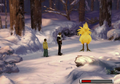 Chocobo captured from FFVIII Remastered