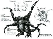 Death Claw FFVIII Sketch