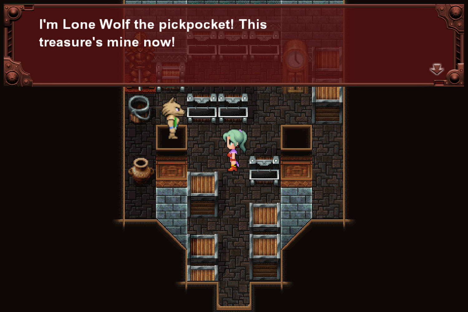 Lone Wolf the Pickpocket