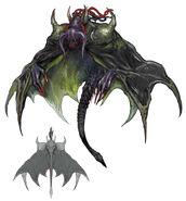 FFXIV Deathgaze Hollow concept