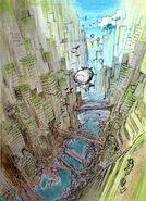 Final Fantasy Unlimited preliminary illustration 4