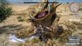 Gladiolus Dual Master against a gigantoad in FFXV