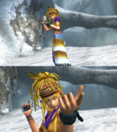 Rikku Gunner Victory Pose