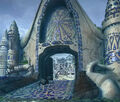 Burmecia Town Gate by Alberto Forero