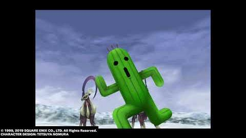 "Cactuar GF ""1,000 Needles"" from FINAL FANTASY VIII Remastered"