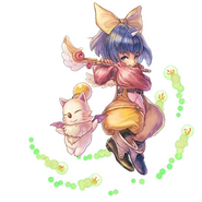 FFLTnS Eiko and Mog Artwork