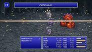 Rydia using Zantetsuken from FFIV Pixel Remaster
