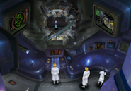 Sorceress Memorial control room from FFVIII Remastered