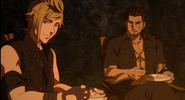 Brotherhood Final Fantasy XV Gladiolus and Prompto