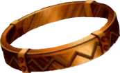FF7 Bronze bangle